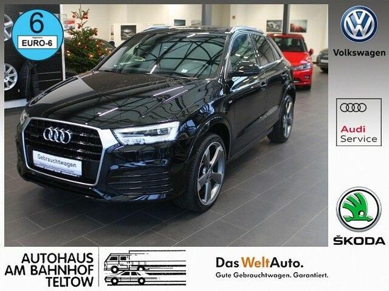Audi Q3 2.0TDI EU6 design S-line quattro S tronic*LED