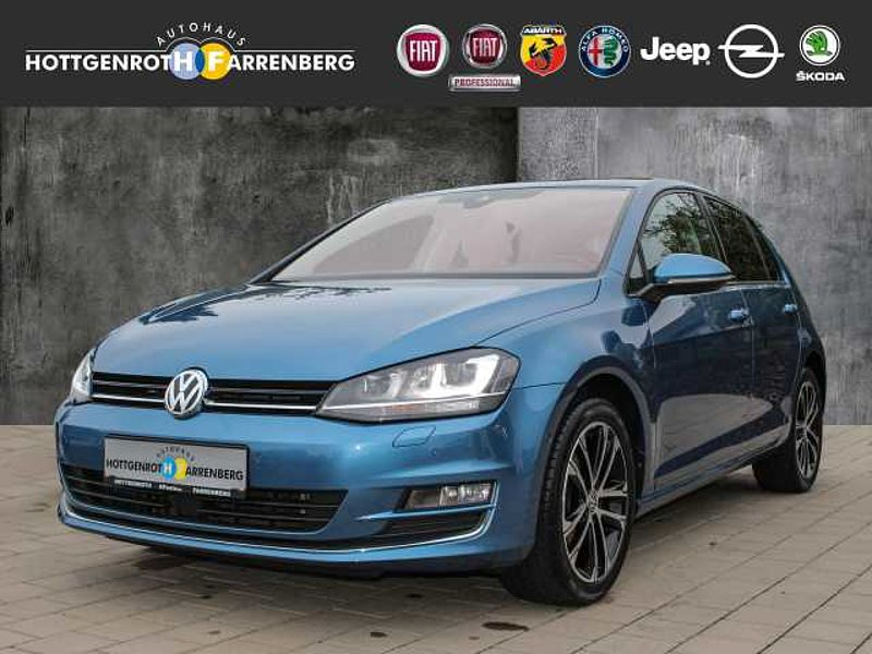 Volkswagen Golf VII 1.4 TSI BMT Allstar ACC/AHK/NAVI/BEH. FRONTSCHEIBE