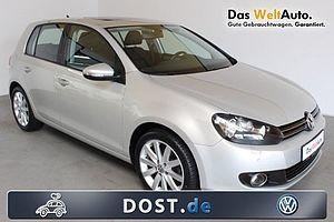 Volkswagen Golf VI Highline, 2,0 TDI, DSG Klima Navi Leder