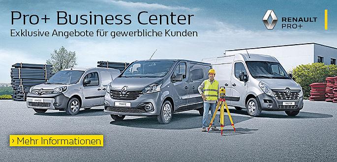 Autohaus Boden in Essen ist Renault Pro+ Gewerbekunden Standort und Business Center für Groß und Flottenkunden