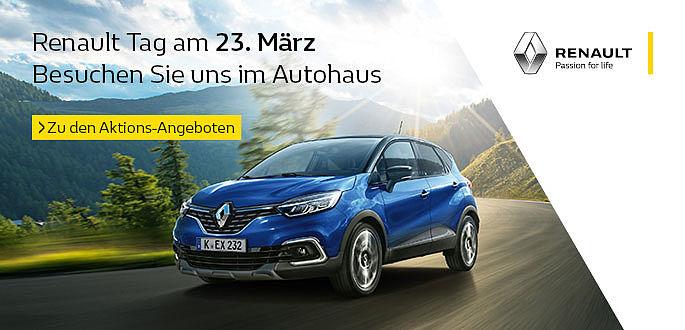 Renault Tag im Autohaus Boden mit Tageszulassungen in Essen, Mülheim und Hagen
