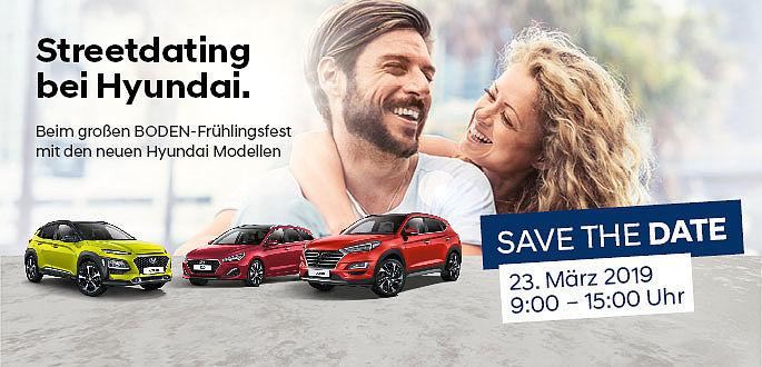 Hyundai Frühlingsfest beim Autohaus Boden  in Essen, Mülheim und Hagen