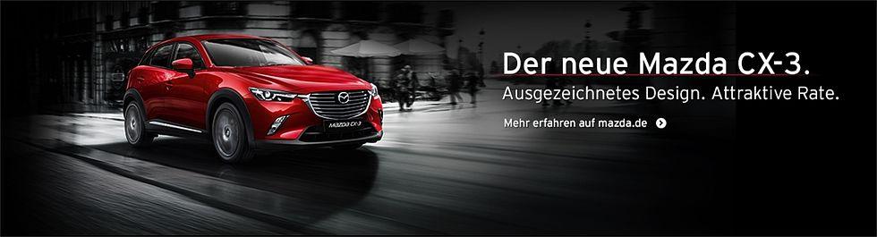 Der neue Mazda CX3