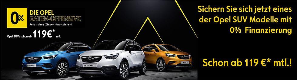 Die Opel Ratenoffensive