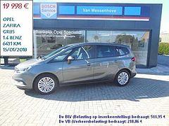 Opel Zafira Tourer Select 1.4 benz. Turbo Cosmic grey 7pl.