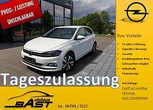 Volkswagen Polo VI TAGESZULASSUNG *Navi*Sitzheiz*Parkpilot*Gr.Radio*Touch*