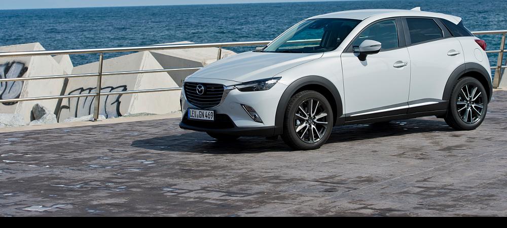 Mazda CX-3 Front weiß