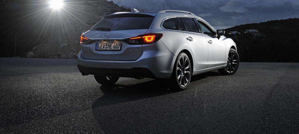 Mazda 6 heck Exterior