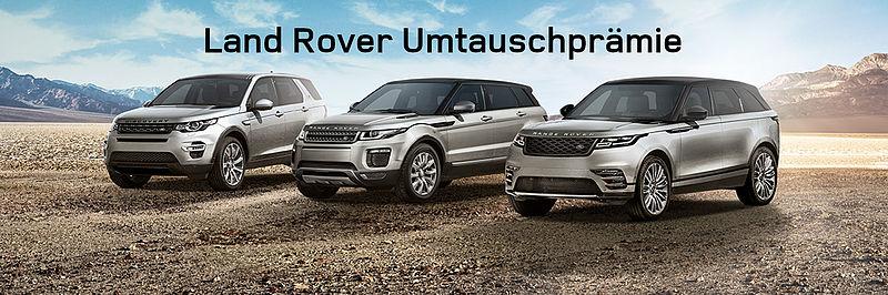 Land Rover Umtauschprämie