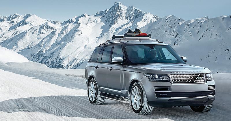 Land Rover Winterkampagne