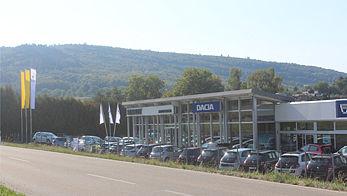 Friesenheim 1 bei Offenburg (ehem. Auto Bayer)