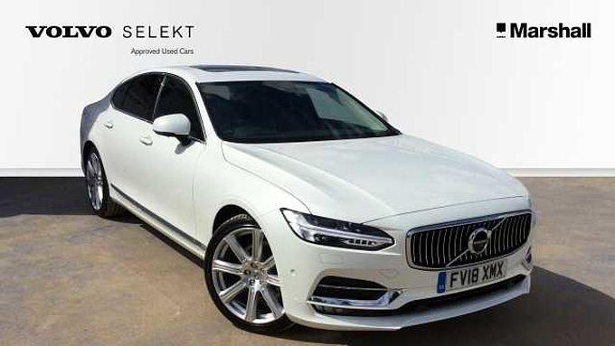 Volvo S90 D4 Inscription Pro Automatic Sunroof, BLIS, Smartphone Integration, 360 Camera