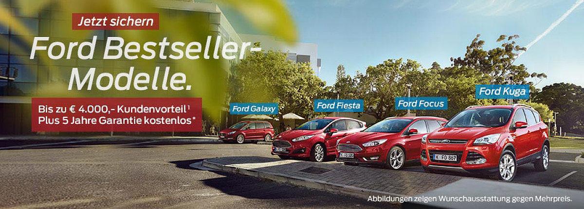 Ford Bestseller-Modelle