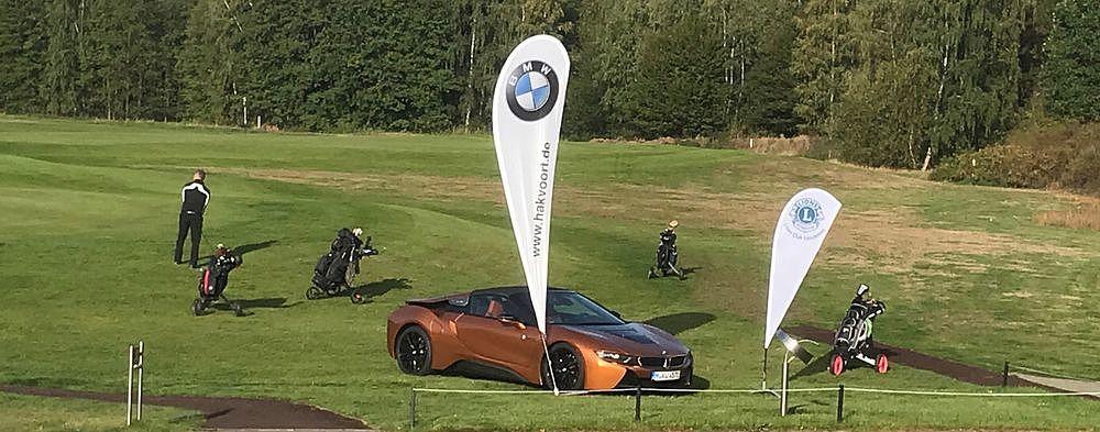 BMW Hakvoort in Emsdetten sponsert Golf-Turnier der Lions