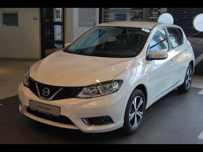 Nissan Pulsar Acenta Navigation Kamera Sitzheizung