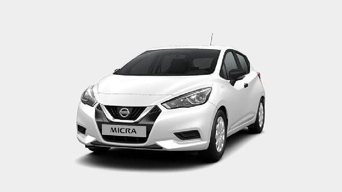 Nissan Micra Klima/Radio/Garantie