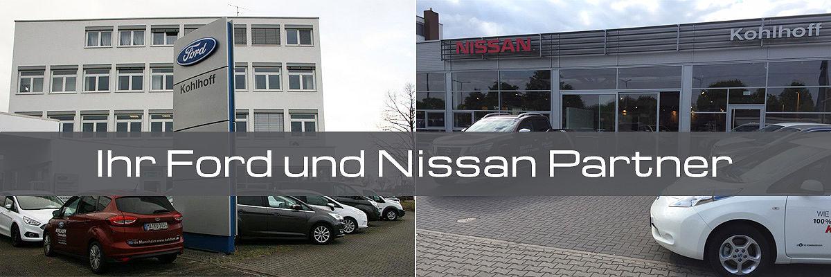 Nissan und Ford Partner