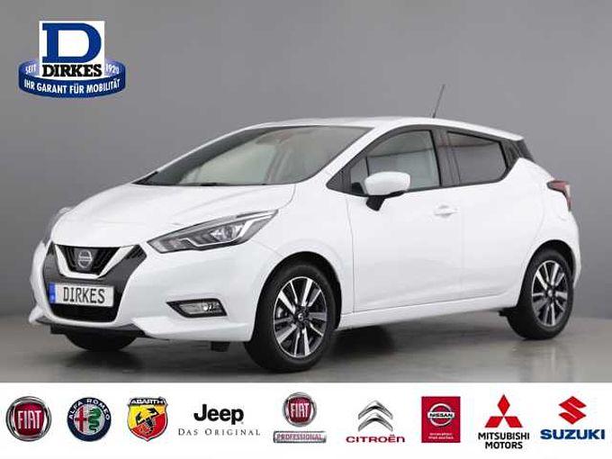 Nissan Micra Acenta 1.0 LED Fernlichtass Klima SHZ Temp
