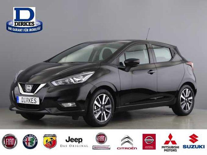 Nissan Micra N-WAY 1.0 Klima SHZ Temp PDC CD AUX Rückf.
