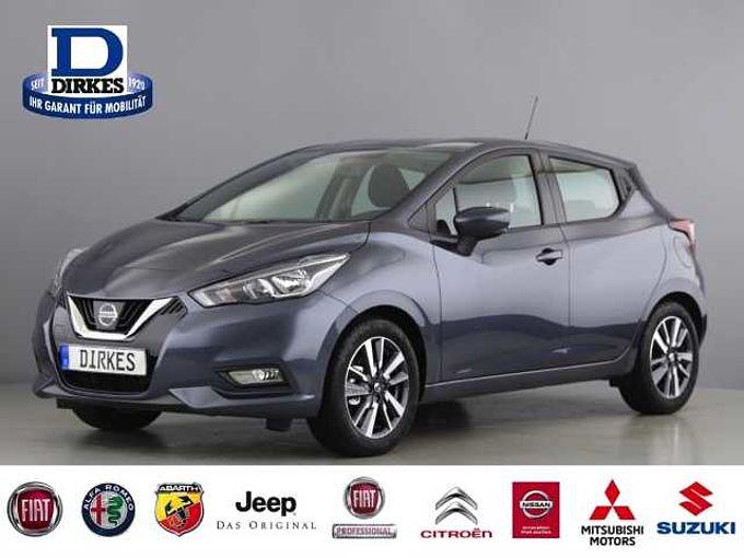 Nissan Micra Acenta 1.0 Navi LED-Tag Klima SHZ Rückfahr