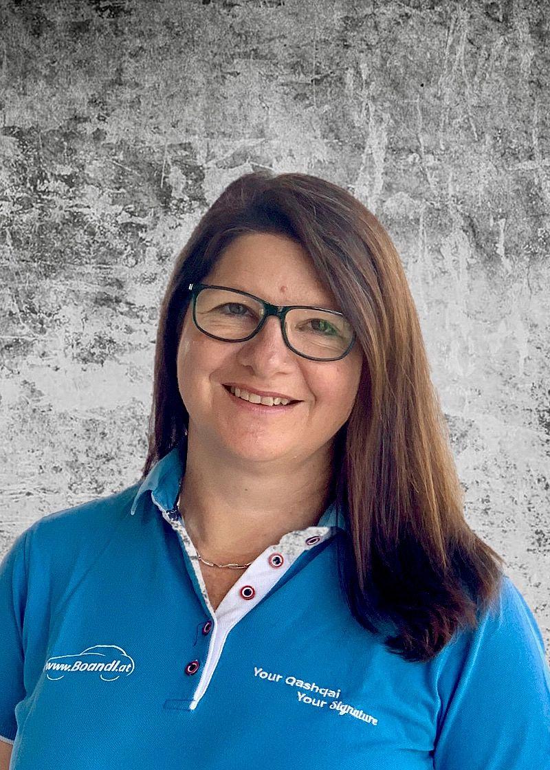 Andrea Boandl - Chefin - Verkaufsberaterin - Annahme - Buchhaltung