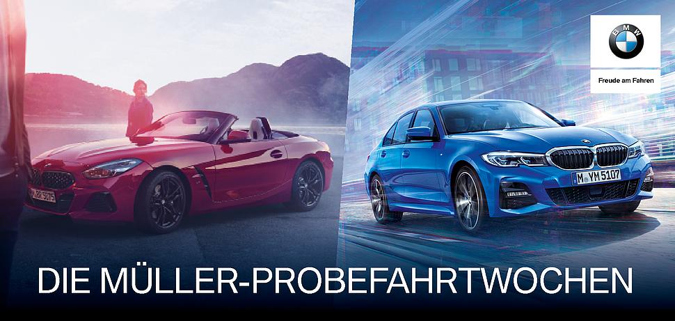 BMW Probefahrtwochen