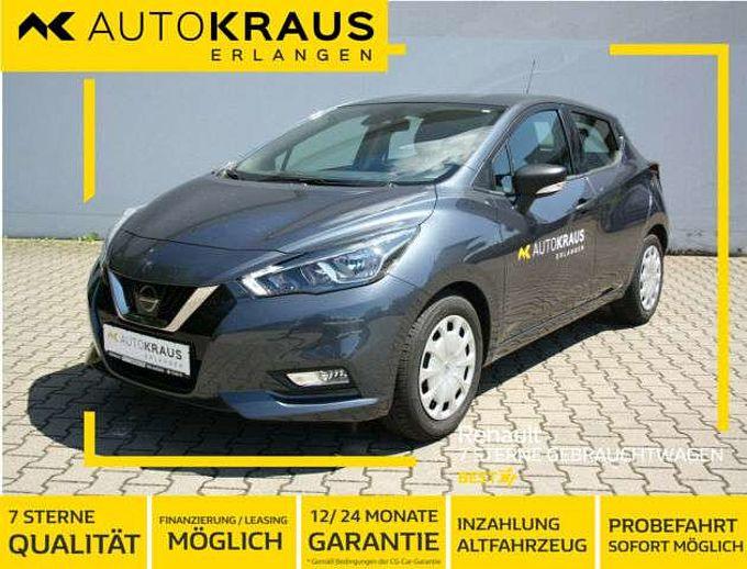 Nissan Micra Visia Plus*Klimaanlage,Bluetooth*