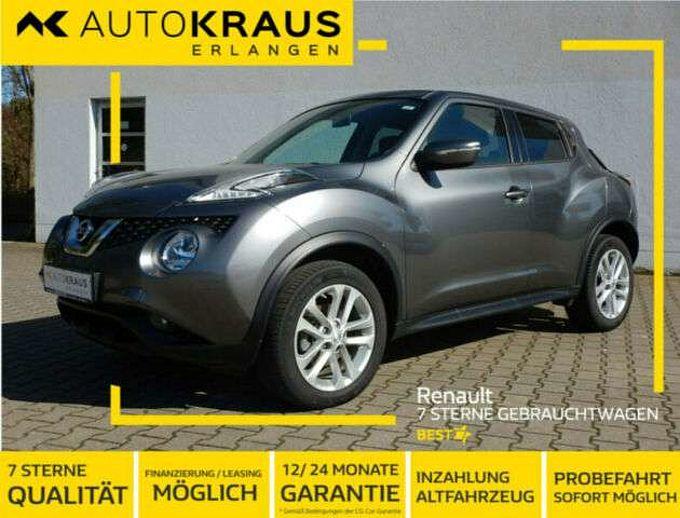 Nissan Juke Acenta1.5dCi 110PS*Euro6,Klima,Bluetooth*