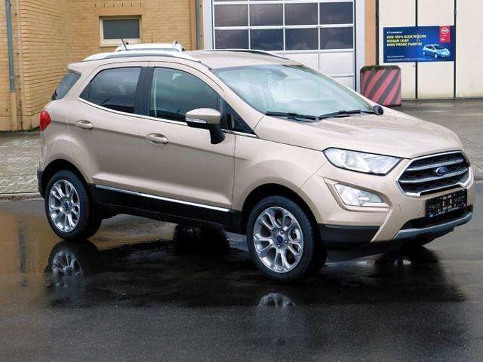 Ford EcoSport Titanium*1.0 EcoBoost* B&O Play* Navi*