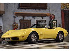 Corvette C3 Convertible Matching Numbers