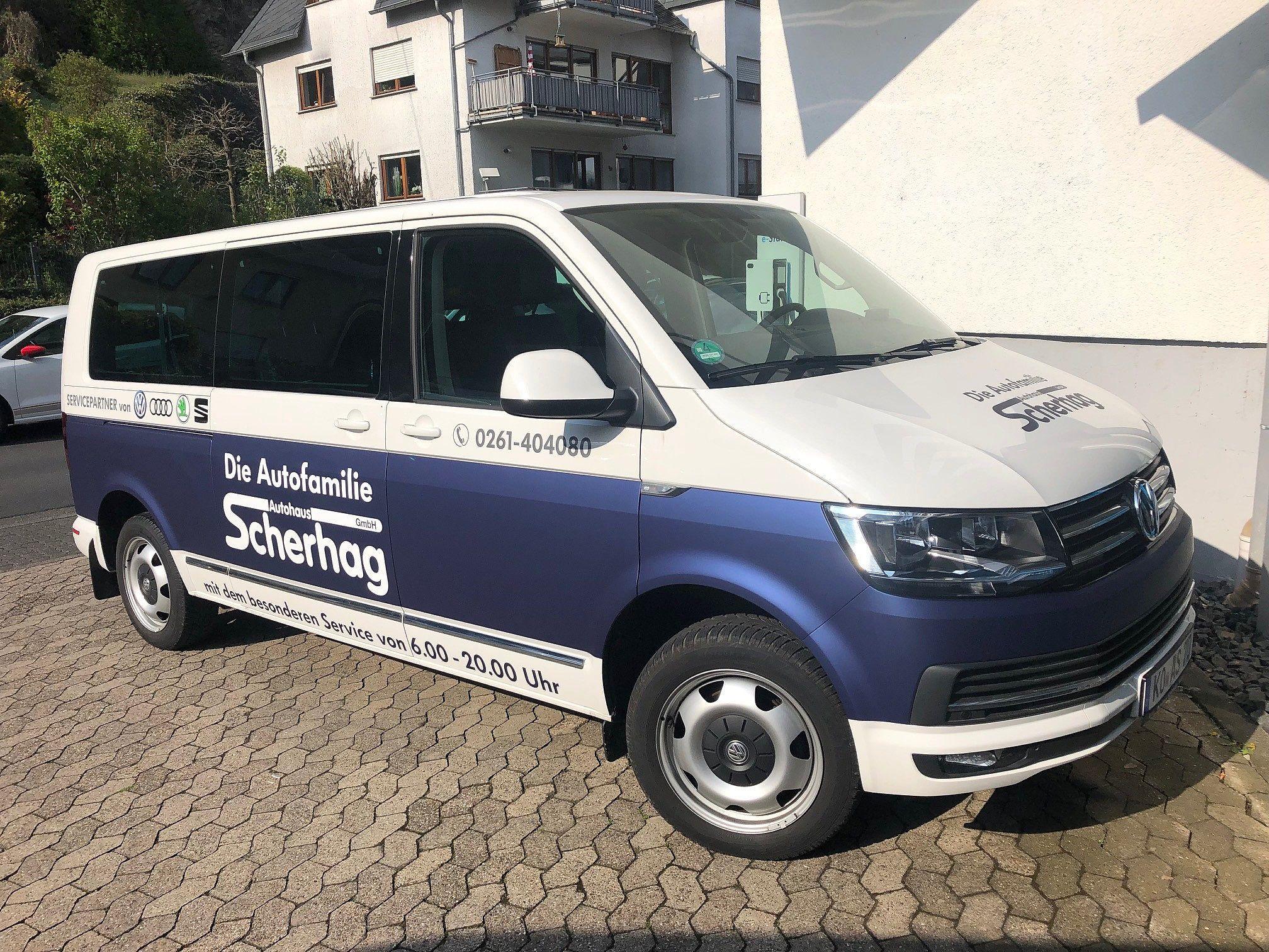 Scherhag shuttle Service Transporter