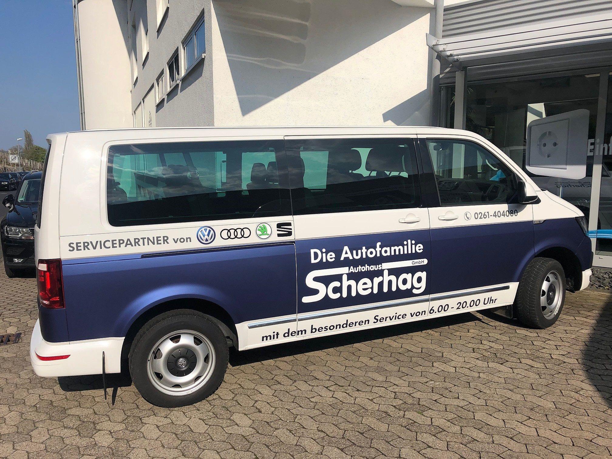 Scherhag shuttle Service Transporter 2
