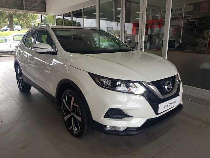 Nissan Qashqai 1.5 dCi Acenta Plus Dsl 5-dr MY18 White