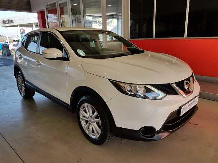 Nissan Qashqai 1.2T Acenta 5-dr MY14 CVT White