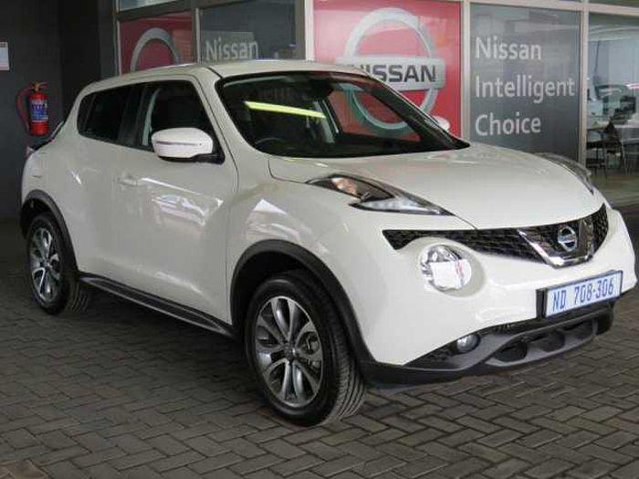 Nissan Juke 1.2DIG-T Acenta+ 5-dr MY16 White
