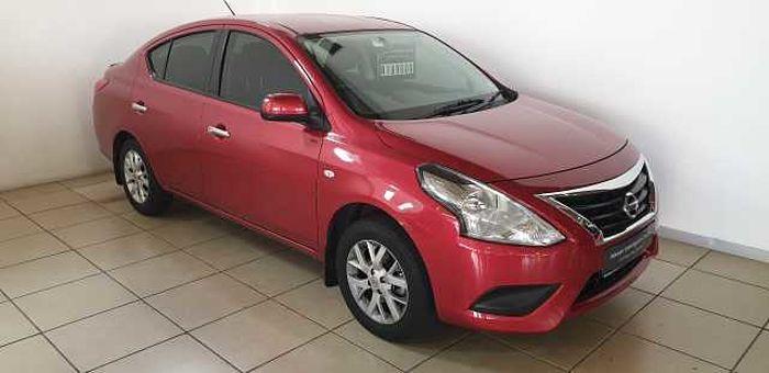 Nissan Almera 1.5 Acenta MY16 AT Red