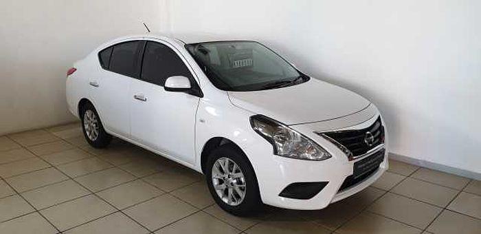 Nissan Almera 1.5 Acenta MY16 AT White