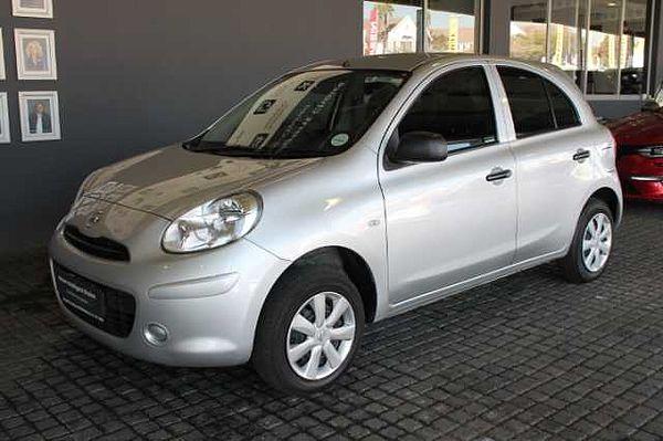 Nissan MICRA 1.2 VISIA+AUDIO 5DR Silver