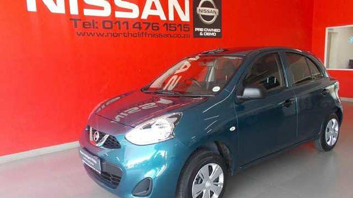 Nissan Micra Active Visia+ Blue
