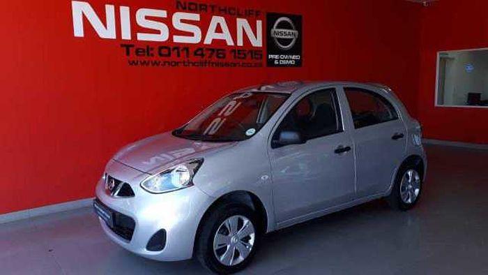 Nissan Micra 1.2 Visia Silver