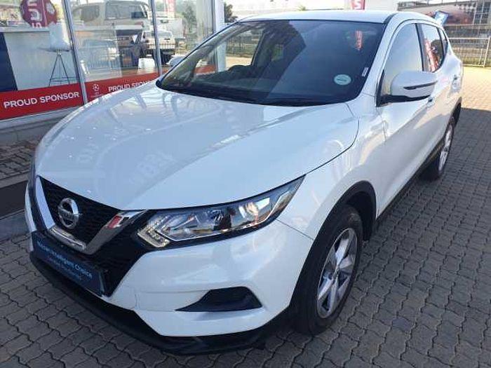 Nissan Qashqai 1.2 T Visia 5-dr MY18 White