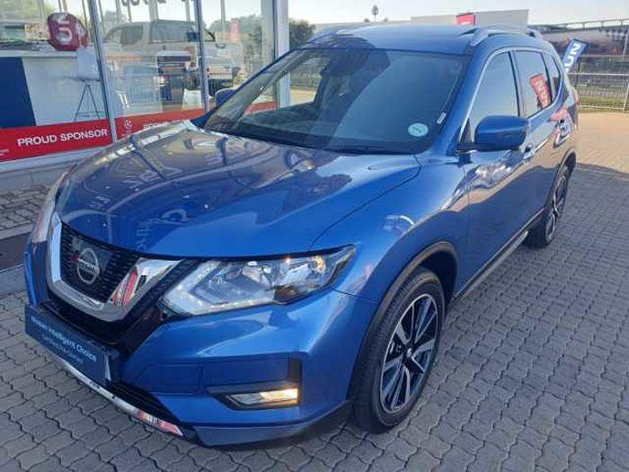 Nissan X-Trail 2.5 Tekna AWD 7-s CVT MY17 Blue