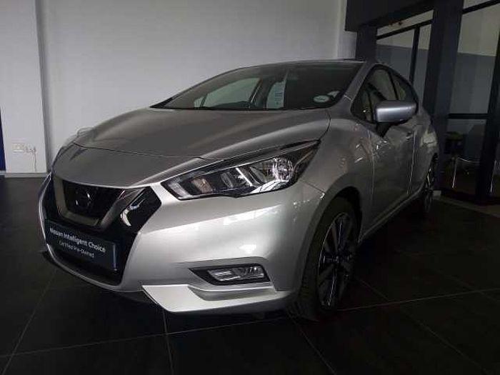 Nissan Micra Acenta Plus Tech  Silver