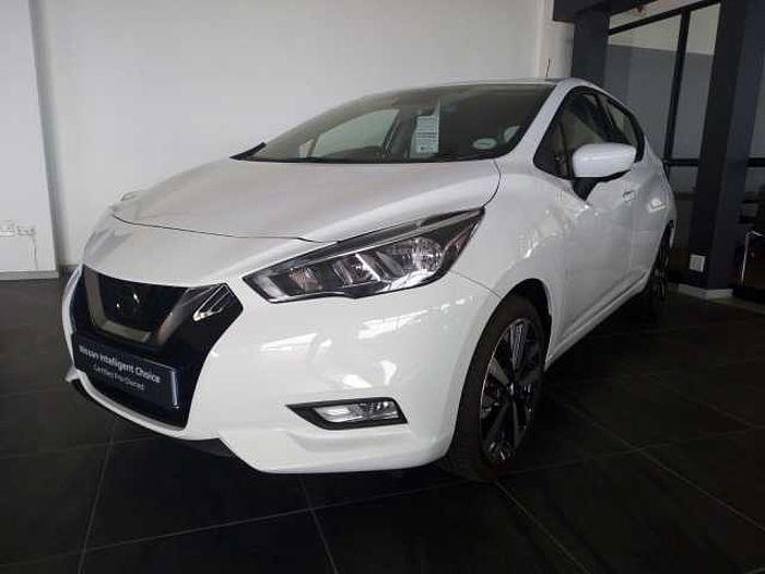 Nissan Micra Acenta Plus Tech  White