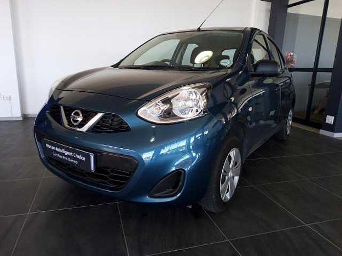 Nissan Micra Active 1.2 Visia + Nav  Blue