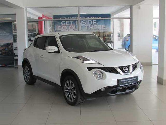 Nissan Juke 1.5 dCi Acenta+ Dsl 5-dr MY16 White