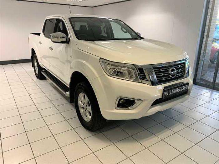 Nissan Navara 2.3 SE D-Cab Dsl PU MY18 AT White