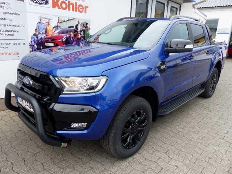 Ford Ranger Autmatik Wildtrak X Blue-Edition