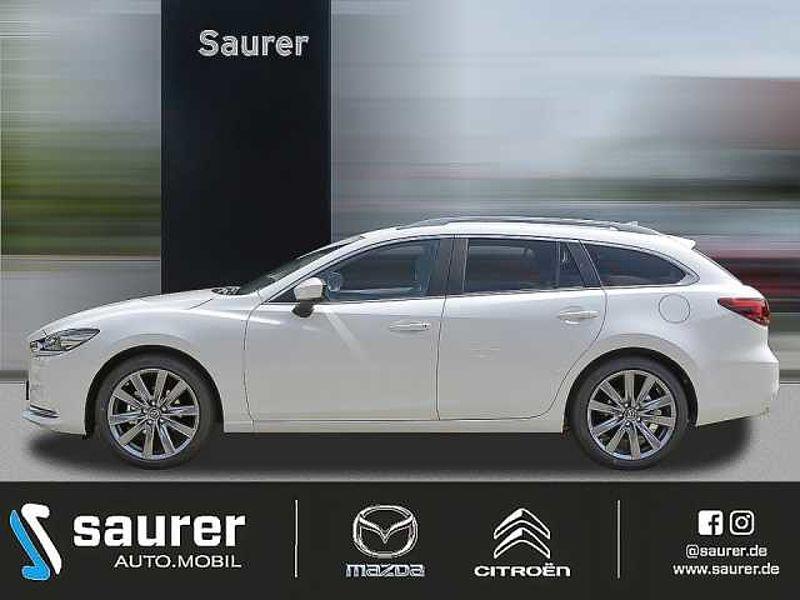 Mazda 6 Exclusiv-Line Automatik i-Activsense/Head-up/Navi/LED