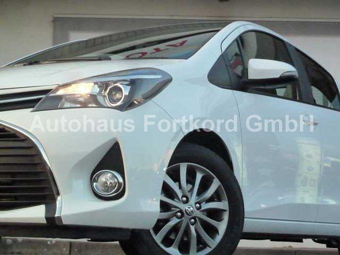 Toyota Yaris 1.33 VVT-i Edition, BT-FSA, *Sitzhzg., Tempom., Alu, Rückf.-Cam